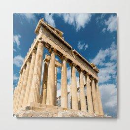 Parthenon Greece Metal Print