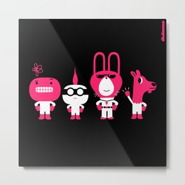 indecisive suspects : idokungfoo.com Metal Print