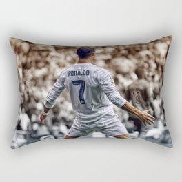 cr7 clebration Rectangular Pillow
