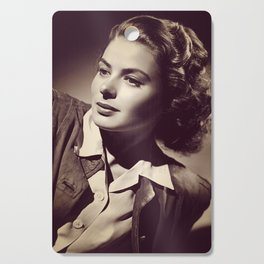 Ingrid Bergman, Hollywood Legend Cutting Board