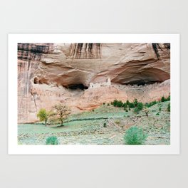 Canyon de Chelly, the Eyes Art Print