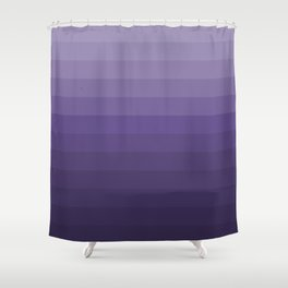 Ultra Violet - Family Color (Fourteen brothers) Shower Curtain