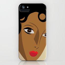 Art Deco Josephine Baker iPhone Case