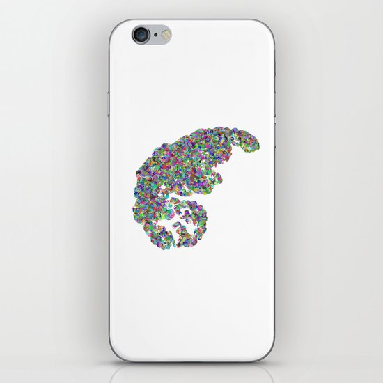 Color binary tree  iPhone & iPod Skin