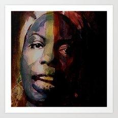 Nina Simone     Sinnerman Art Print