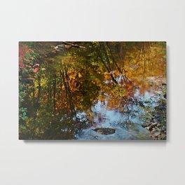 New Hampshire  Autumn Reflection Metal Print