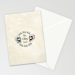 The Funny Talking Dead Skull Picture Stationery Cards