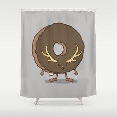 The Donutalope Shower Curtain