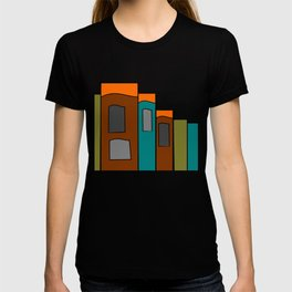 Creative Reading - Zine Page Graphics T-shirt