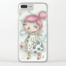 A Hope-Spreading Fairy Clear iPhone Case