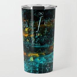 mathematical art Travel Mug