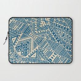 Tribal (blue)  Laptop Sleeve
