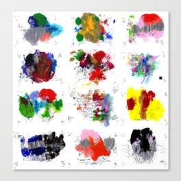 12 daily rituals Canvas Print