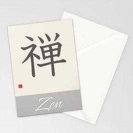 ZEN KANJI Stationery Cards