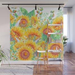 Summer Garden 7 Wall Mural