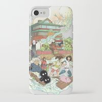 chihiro iPhone & iPod Cases featuring Chihiro by Alba Palacio