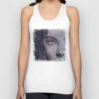 siren Tank Tops featuring Siren by Michael Creese