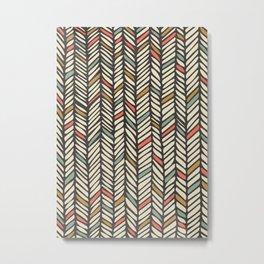Autumn Threads Metal Print