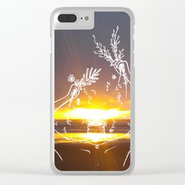 The Beauty of a Sunset Clear iPhone Case