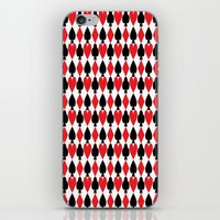 suits iPhone & iPod Skins featuring French Suits by Jennifer Agu