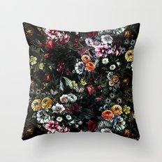 Night Garden XIV Throw Pillow