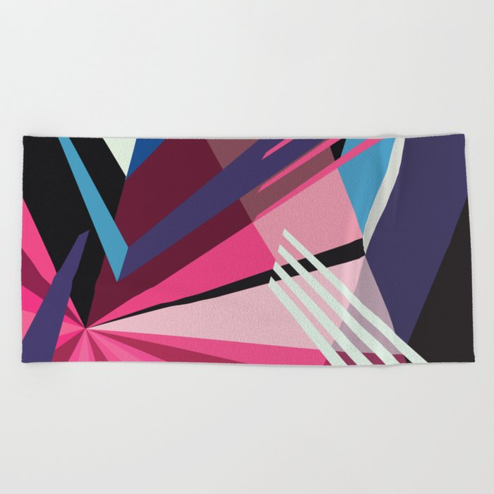 Amazing Runner No. 5 Beach Towel
