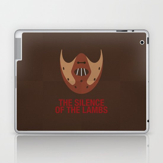 THE SILENCE OF THE LAMBS Laptop & iPad Skin