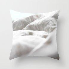 Goodmorning Mint Throw Pillow