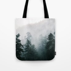 Forest Fog IX Tote Bag