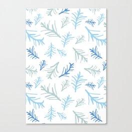 Winter Twigs Canvas Print