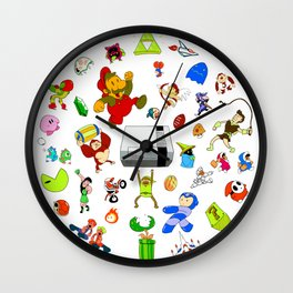 Nintendo NES Mini Celebration Wall Clock