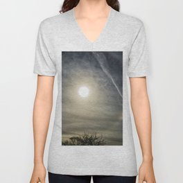 Eye in the sky halo Unisex V-Neck