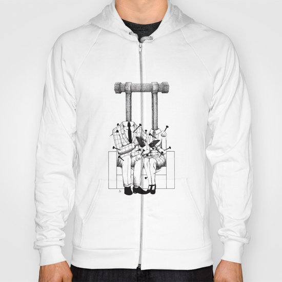 Love (one hand to caress and the other one to hurt) Hoody