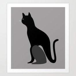 cat2 Art Print