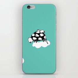 Flying Turtle by McKenna Sanderson iPhone Skin