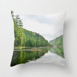 Mattawa River in Colour Throw Pillow