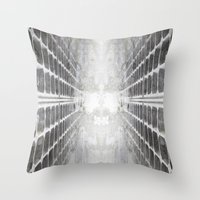 illusion Throw Pillows featuring ILLUSION by ED design for fun