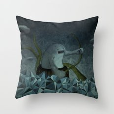 Naufrago Throw Pillow