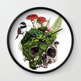 What's Underneath Wall Clock