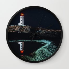 Puddle of Light Wall Clock