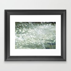 Dancing Water III Framed Art Print