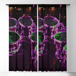 Drums Blackout Curtain