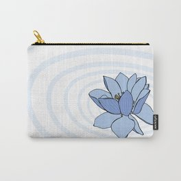 Lotus Ripples Carry-All Pouch