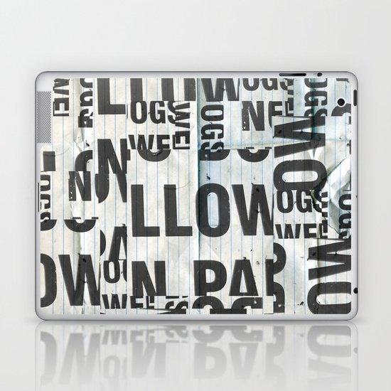type mess Laptop & iPad Skin