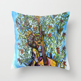 City of Roses Throw Pillow