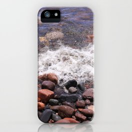 Lake Superior North Shore iPhone Case