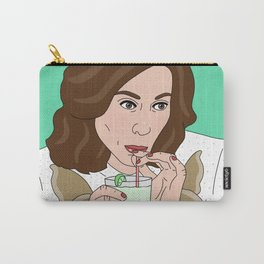 """Luann """"Be Cool"""" from Real Housewives New York Carry-All Pouch"""
