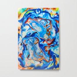Milkblot No. 4 Metal Print