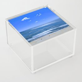 Early Morning Surf In Ocean City Maryland Acrylic Box