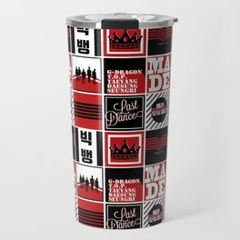 "Big Bang ""MADE"" Pattern Travel Mug"